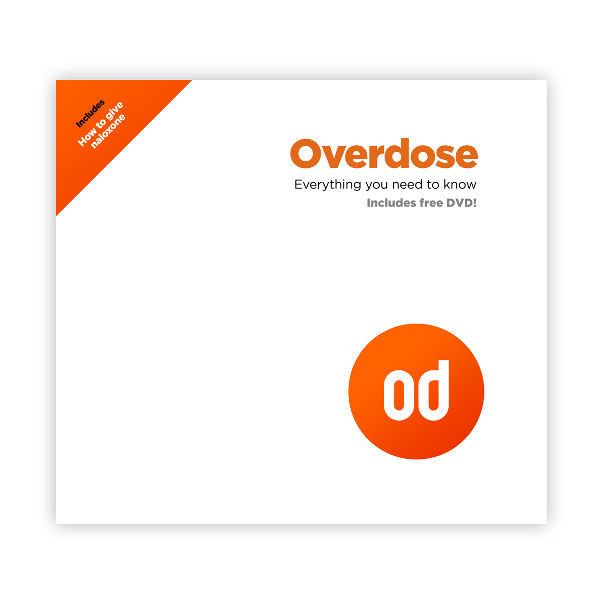 Overdose DVD/booklet (naloxone version)