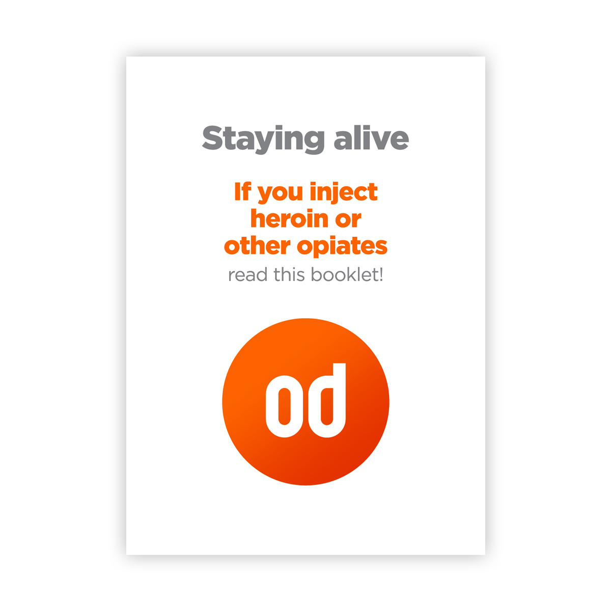 Staying alive (od booklet)