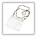 Kidz Positive Bead necklace badge holder