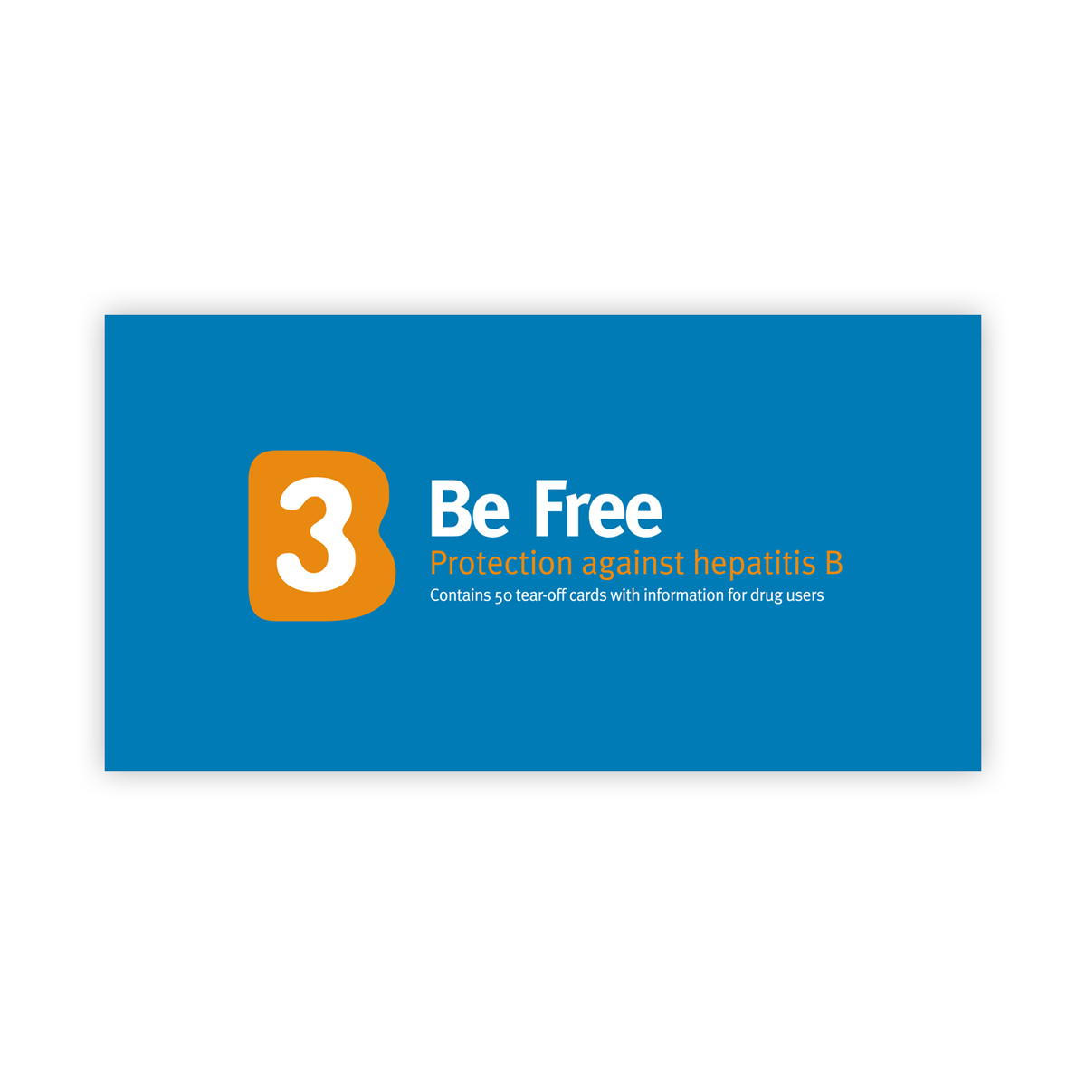 B3 Be Free: hep B vaccination card