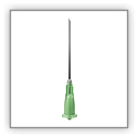 Total Dose Green 21g 40mm (1.5 inch)  Low Dead Space needle