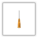 Unisharp: Short Orange 25 gauge 16mm (5/8 inch) needle
