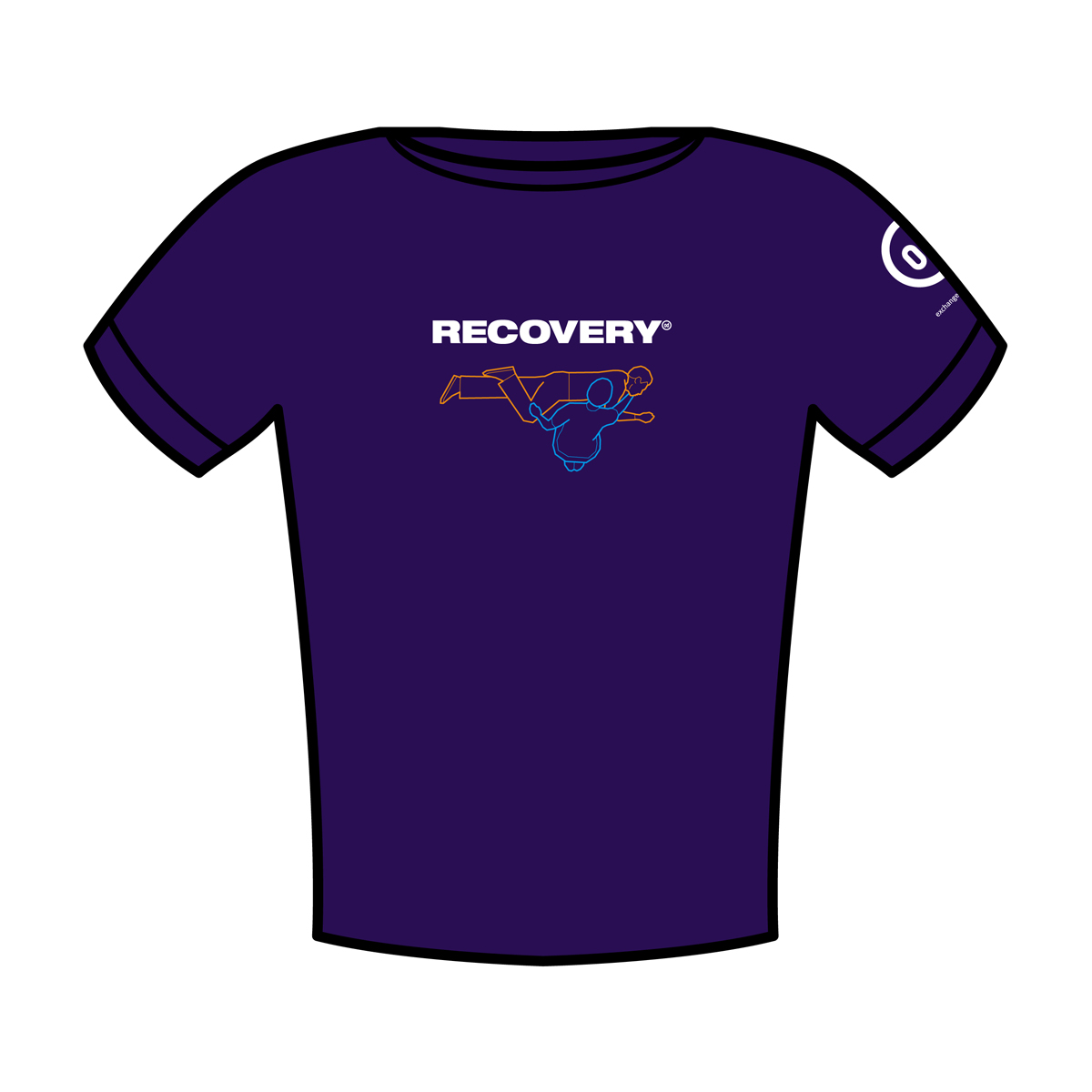 Recovery T-shirt pack of 12 (mixed sizes)