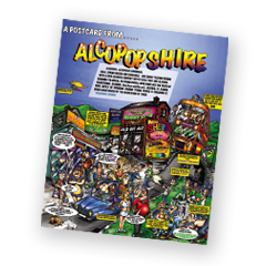 Alcopops poster (out of print)