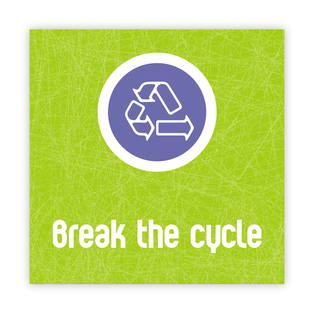 Break the cycle campaign: leaflet