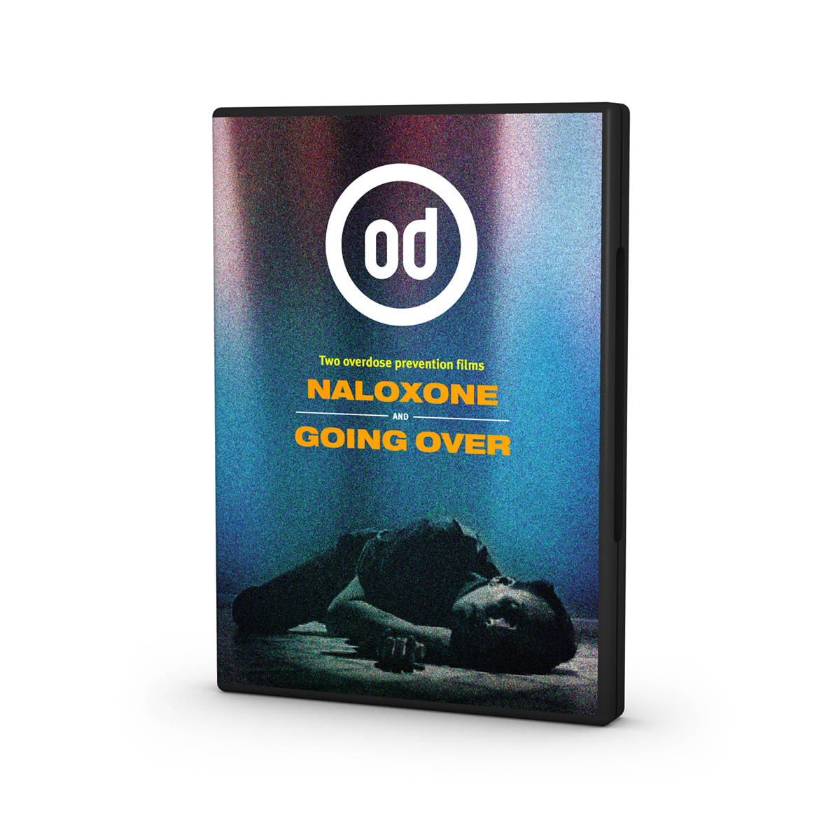 Naloxone and Going Over DVD (display case)