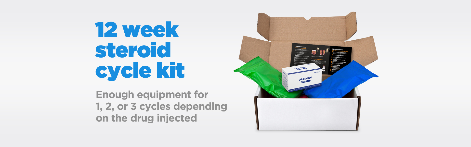 12 week injection cycle kit