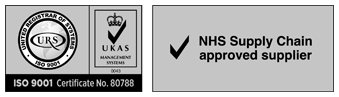 ISO9001 | NHS Supply Chain approved Supplier