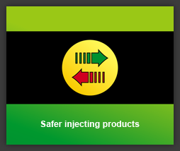 All safer injecting products