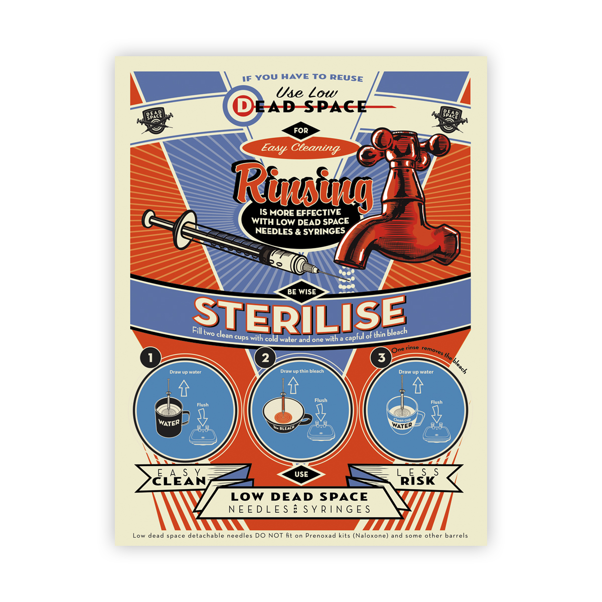 Be wise, sterilise poster