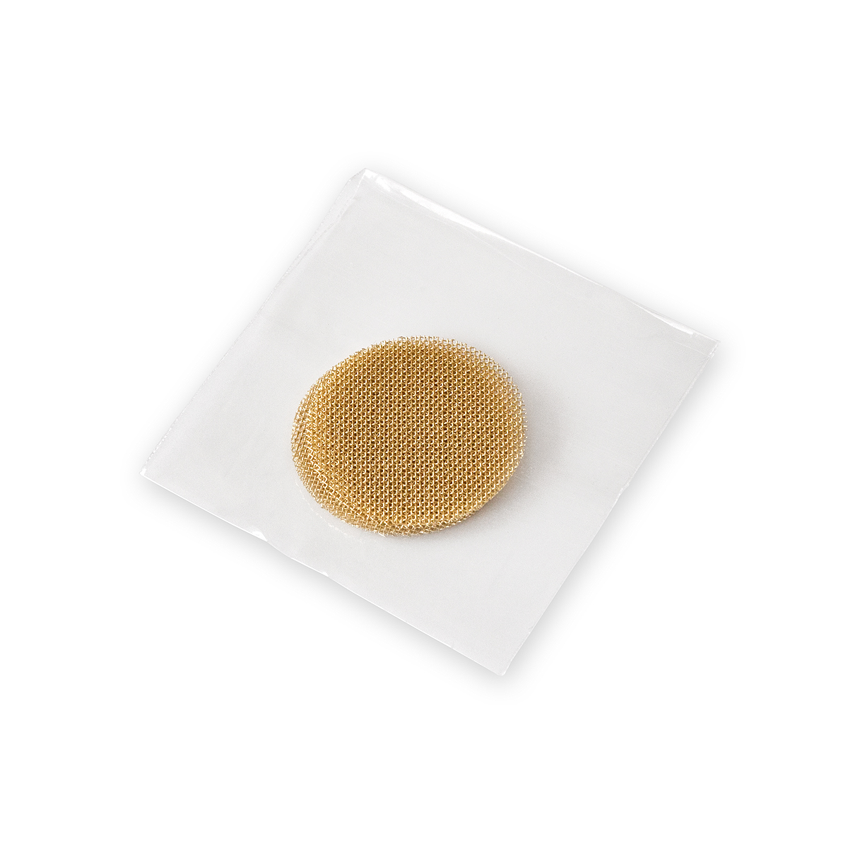 20mm Gauze Pipe Screens, Brass (in bags of 5)