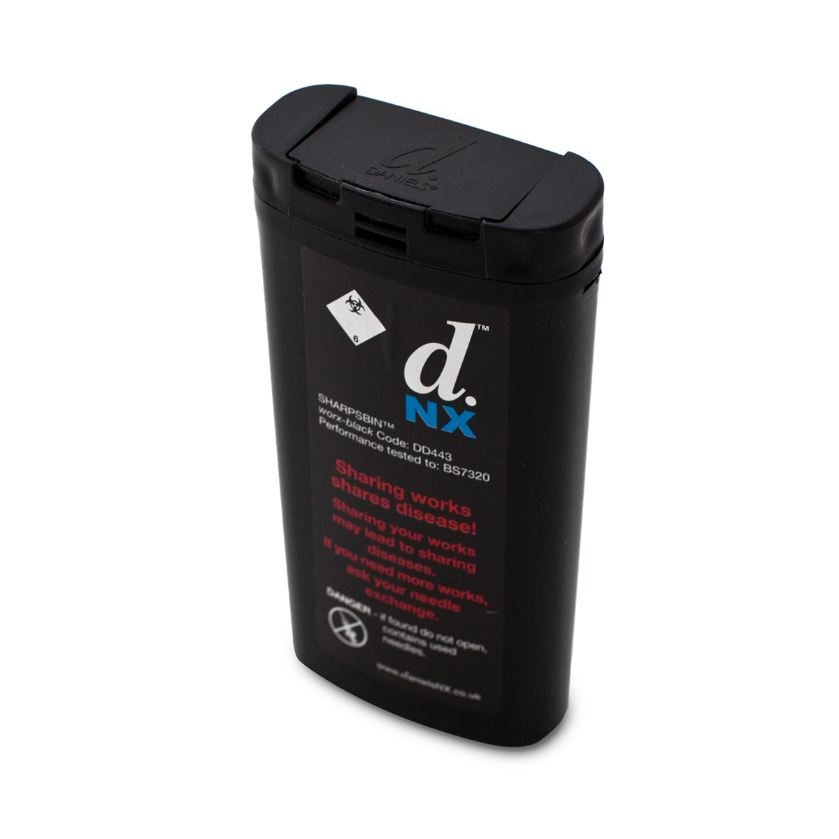 Daniels 0.25L Worx bin (temp out of stock)