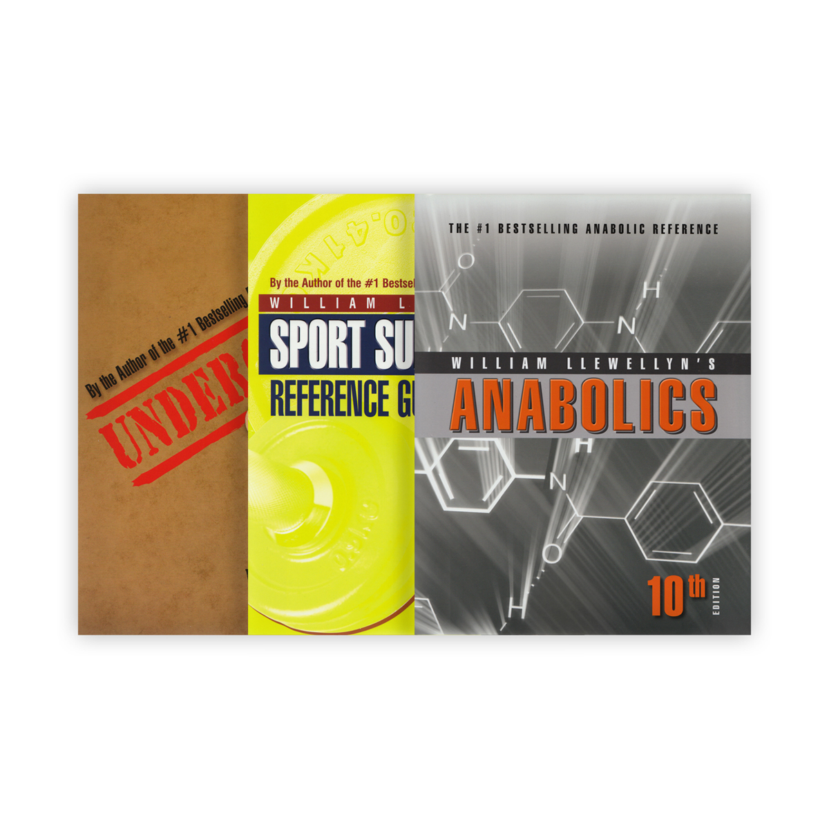 William Llewellyn's Anabolics and Sport Supplements - 3 book set