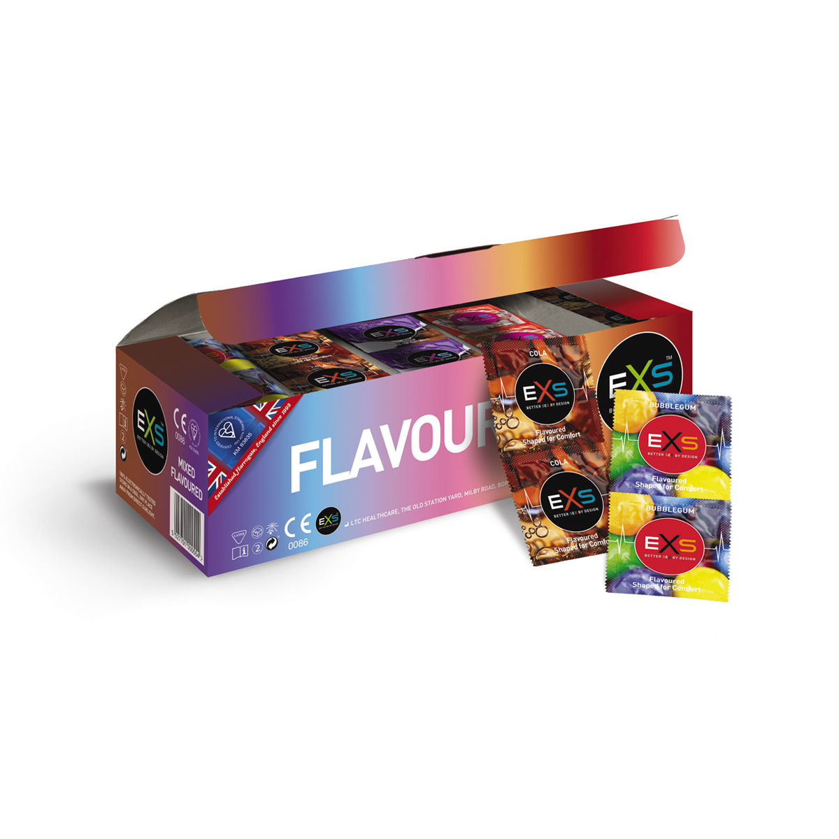 Mixed Flavour Condoms