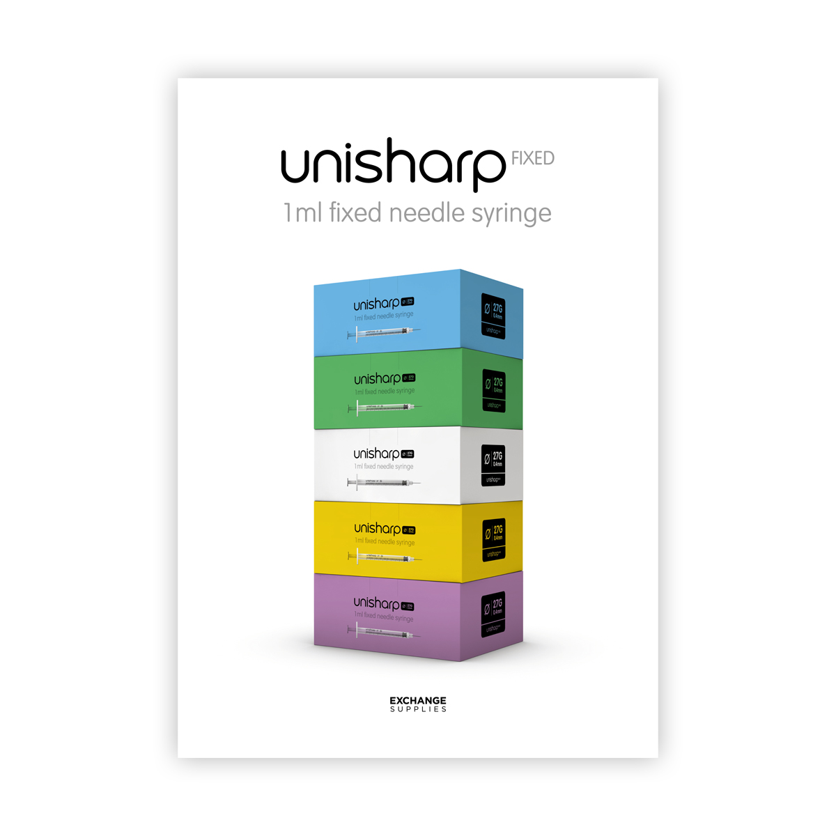 Unisharp 1ml syringe: an introduction