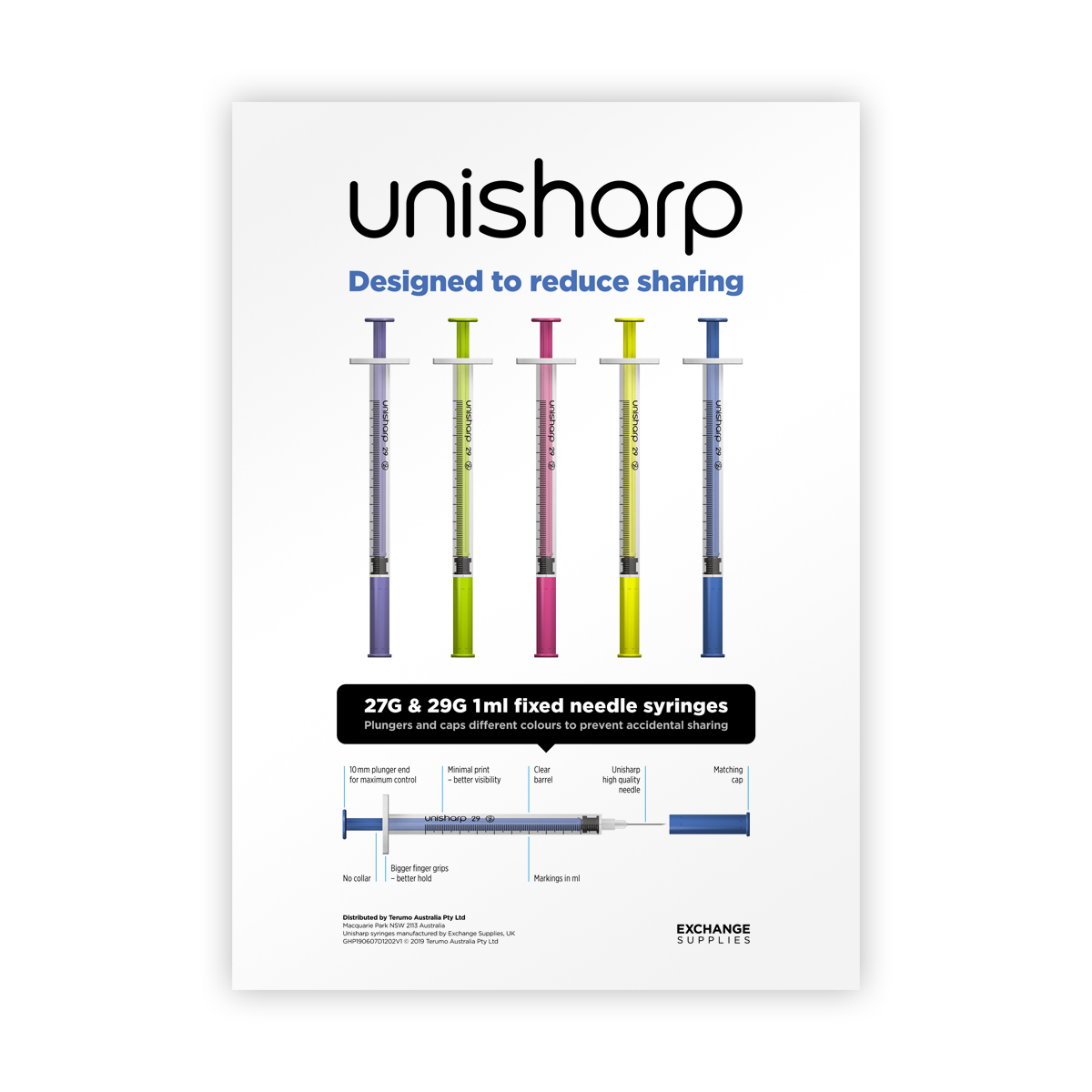 Unisharp fixed A4 Poster