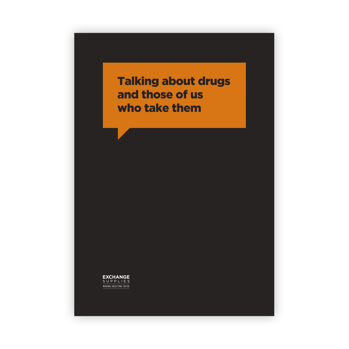 Talking about drugs and those of us who take them