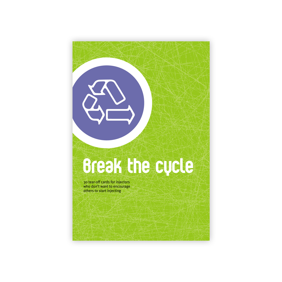 Break the cycle campaign cards