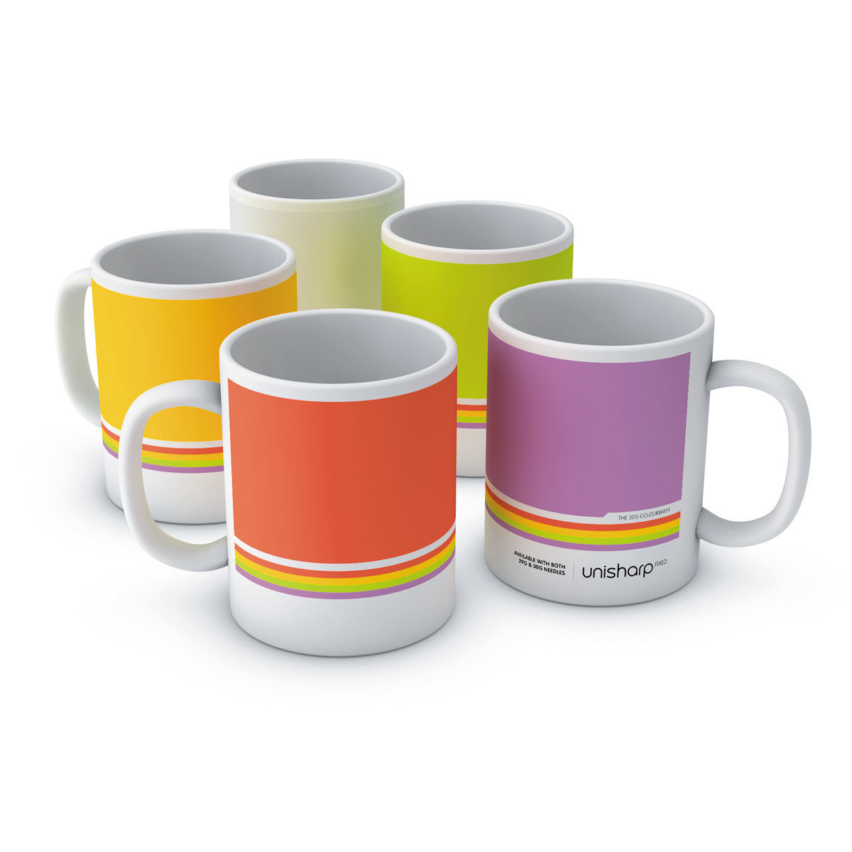 Unisharp fixed mugs