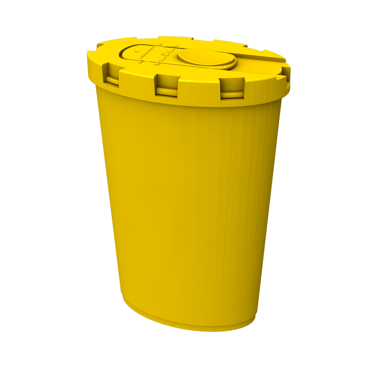 Exchange Supplies Medium Sharps Bin (Yellow)