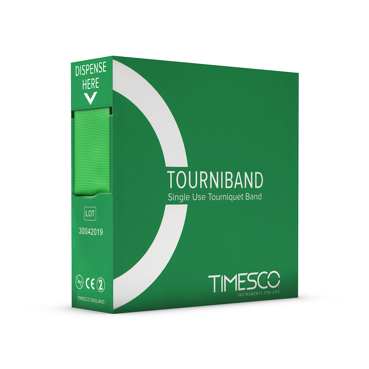 Timesco Tourniquet 'Stretch Band' Single Use - Pack of 25