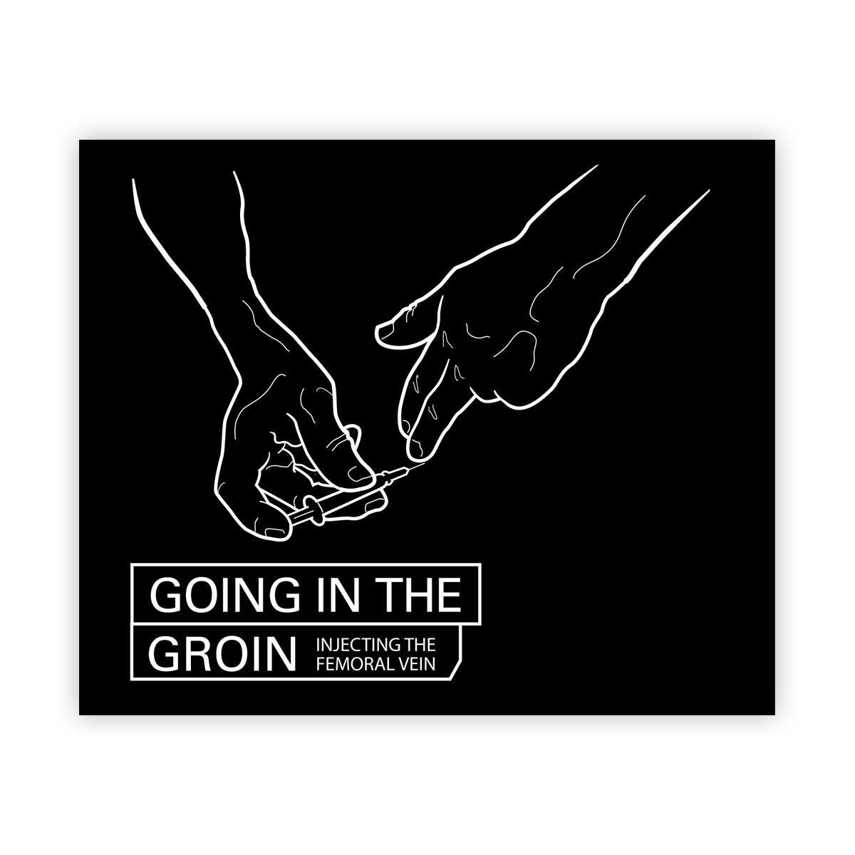 Going in the groin (new edition coming soon)