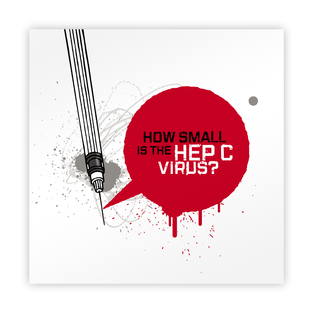 How small is the hep C virus? – leaflet