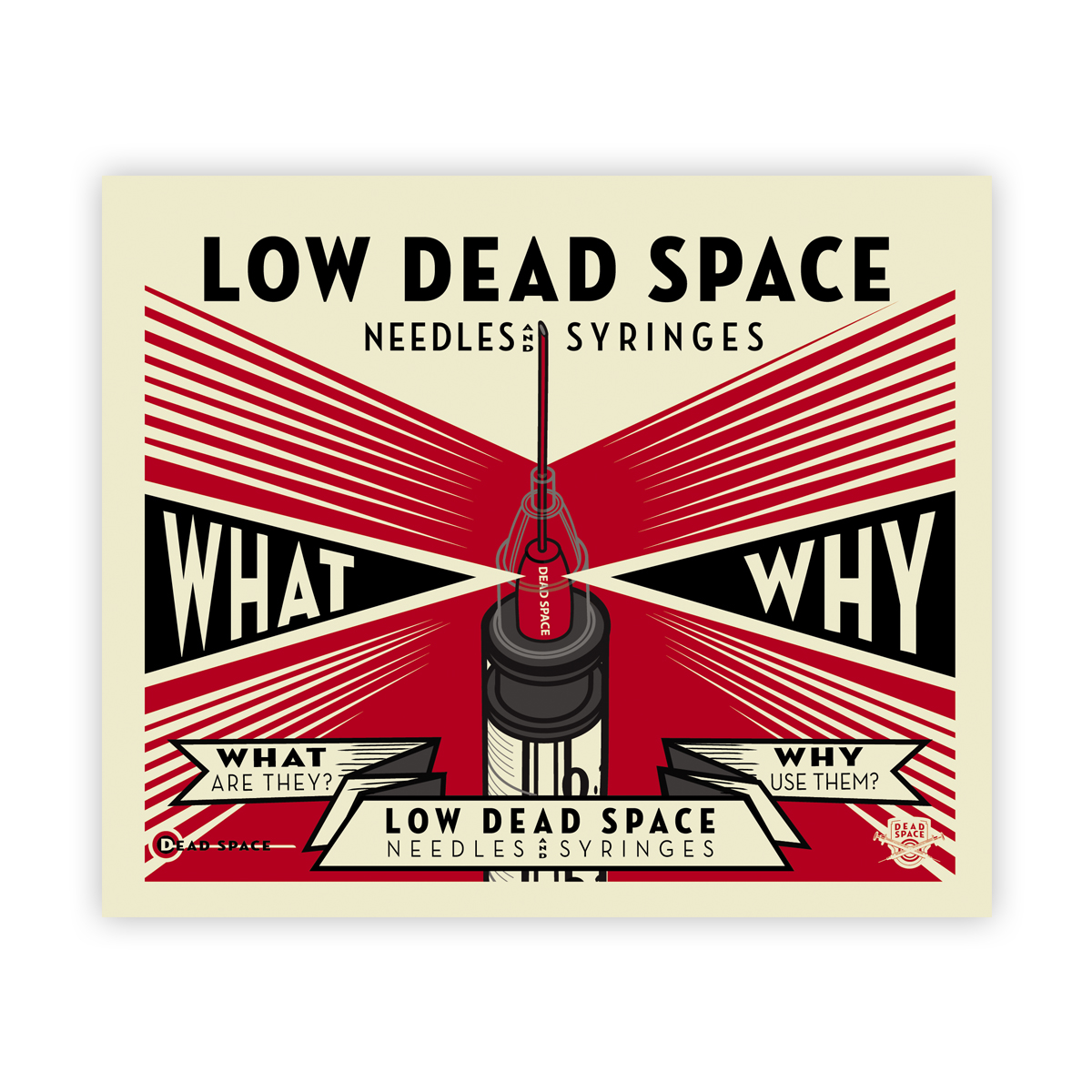 Low dead space needles and syringes: what and why? booklet