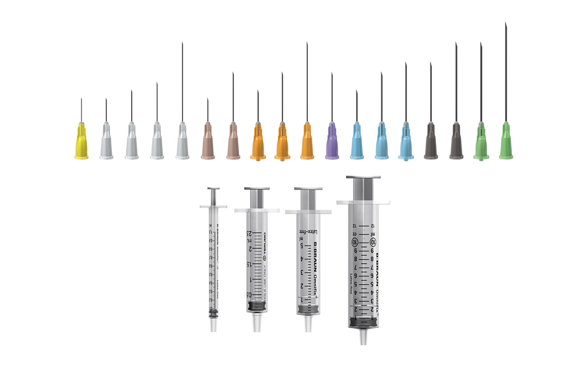 needles and syringes to buy online - all gauges and lengths in stock